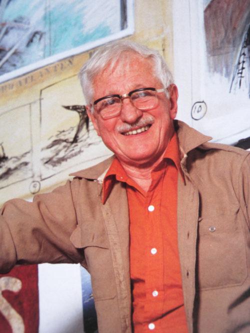 gösta werner porträtt